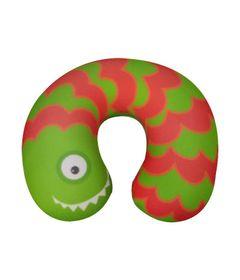 Almofada-de-Pescoco-Infantil---Monstrinho---Verde---Fom--0