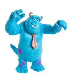 Figura-Articulada---Disney---Pixar---Monstros-SA---Monstros-No-Trabalho---Sulley---17Cm---Mattel-0