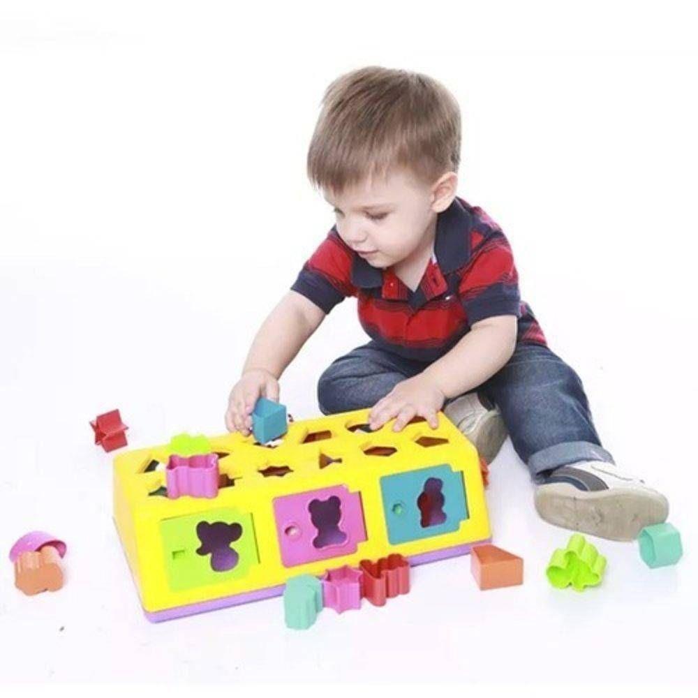 Brinquedo Caixa Encaixa  Estrela- 0005