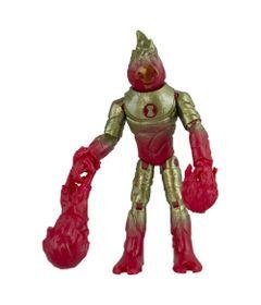 Mini-Figura-de-Acao-Articulada-12-Cm--Chama---Vermelho-e-Dourado---Sunny_Frente