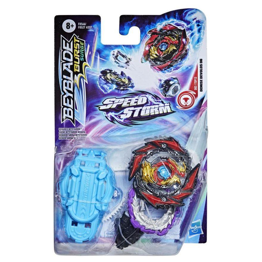 Lancador-e-Piao-de-Batalha-Beyblade-Speedstorm-Iniciante---Demise-Devolos-D6---Hasbro-0