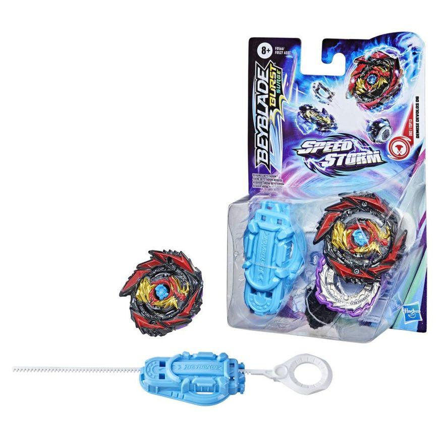 Lancador-e-Piao-de-Batalha-Beyblade-Speedstorm-Iniciante---Demise-Devolos-D6---Hasbro-2