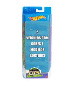Conjunto-de-Veiculo-Hot-Wheels---Pacote-com-5-Sortidos---City-vs-Toxic-Creatures---Mattel_Frnte