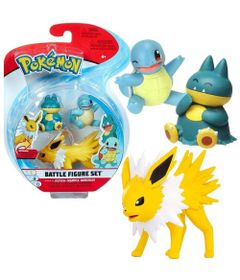 Figuras-de-Acao---Pokemon---Jolteon---Squirtle---Munchlax---Sunny-0