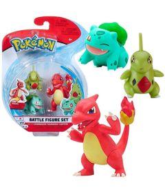 Figuras-de-Acao---Pokemon---Charmeleon---Bulbasaur---Larvitar---Sunny-0