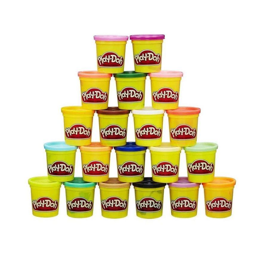 Massa-de-Modelar---Play-Doh---Pack-com-20-potes-Sortidos---Hasbro_Frente