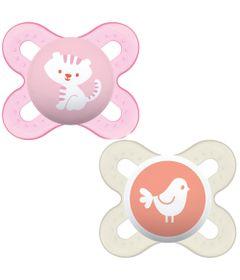 Chupeta-Start---0-a-2-Meses---2-Unidades---Start---Skin-Soft---Gato-e-Passaro---MAM_Frente