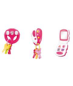 Brinquedo-de-Atividades---3-em-1---Luzes-e-Sons---Rosa---Multikids-0