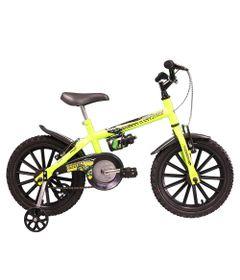 Bicicleta---Aro-16---Dino---Com-Garrafinha---Tk3-Track---Amarelo-Neon-0