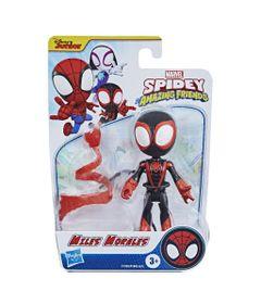Mini-Figura---Disney---Marvel---Miles-Morales---Preto---Hasbro-0