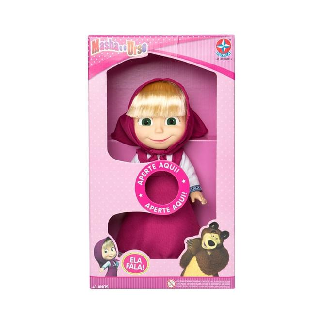 Boneca Masha 35cm com Som - Estrela