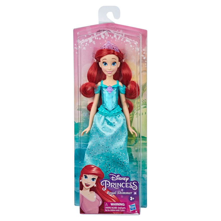 Boneca-Articulada---Disney-Princess---Princesa-Ariel---Brilho-Real-Shimmer---Hasbro-1