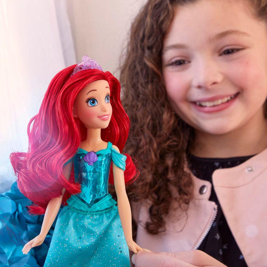 Boneca-Articulada---Disney-Princess---Princesa-Ariel---Brilho-Real-Shimmer---Hasbro-3