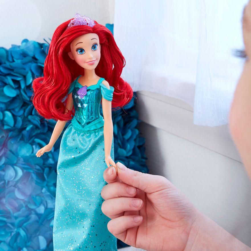 Boneca-Articulada---Disney-Princess---Princesa-Ariel---Brilho-Real-Shimmer---Hasbro-4