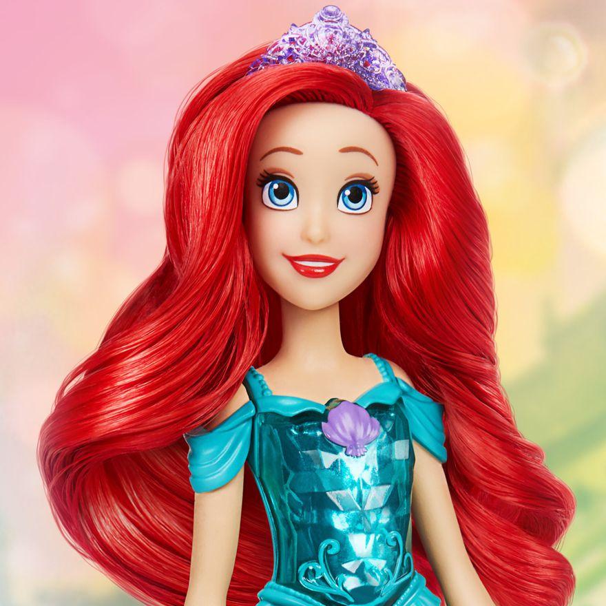Boneca-Articulada---Disney-Princess---Princesa-Ariel---Brilho-Real-Shimmer---Hasbro-7