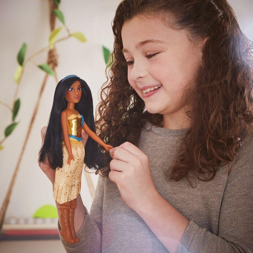 Boneca-Articulada---Disney-Princess---Princesa-Pocahontas---Brilho-Real-Shimmer---Hasbro-3