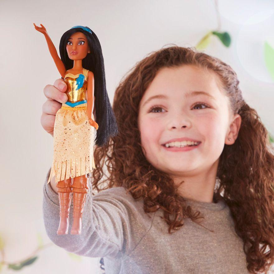 Boneca-Articulada---Disney-Princess---Princesa-Pocahontas---Brilho-Real-Shimmer---Hasbro-4