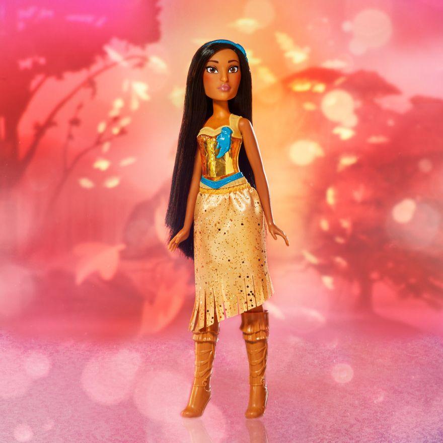 Boneca-Articulada---Disney-Princess---Princesa-Pocahontas---Brilho-Real-Shimmer---Hasbro-5