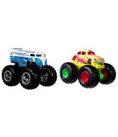 Conjunto-de-Veiculos-Hot-Wheels---Monster-Trucks---Drag-Bus-Vs-Volkswagen-Beetle---Mattel_Frente