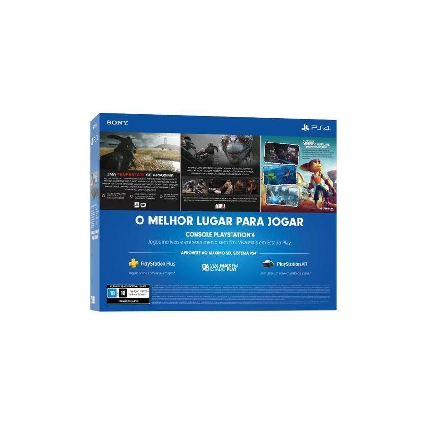Playstation-4---Mega-Pack-V18---1TB-com-3-Jogos---Sony-5