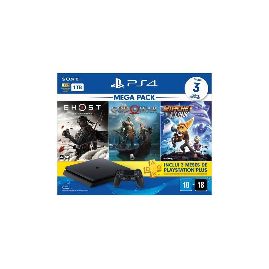 Playstation-4---Mega-Pack-V18---1TB-com-3-Jogos---Sony-2