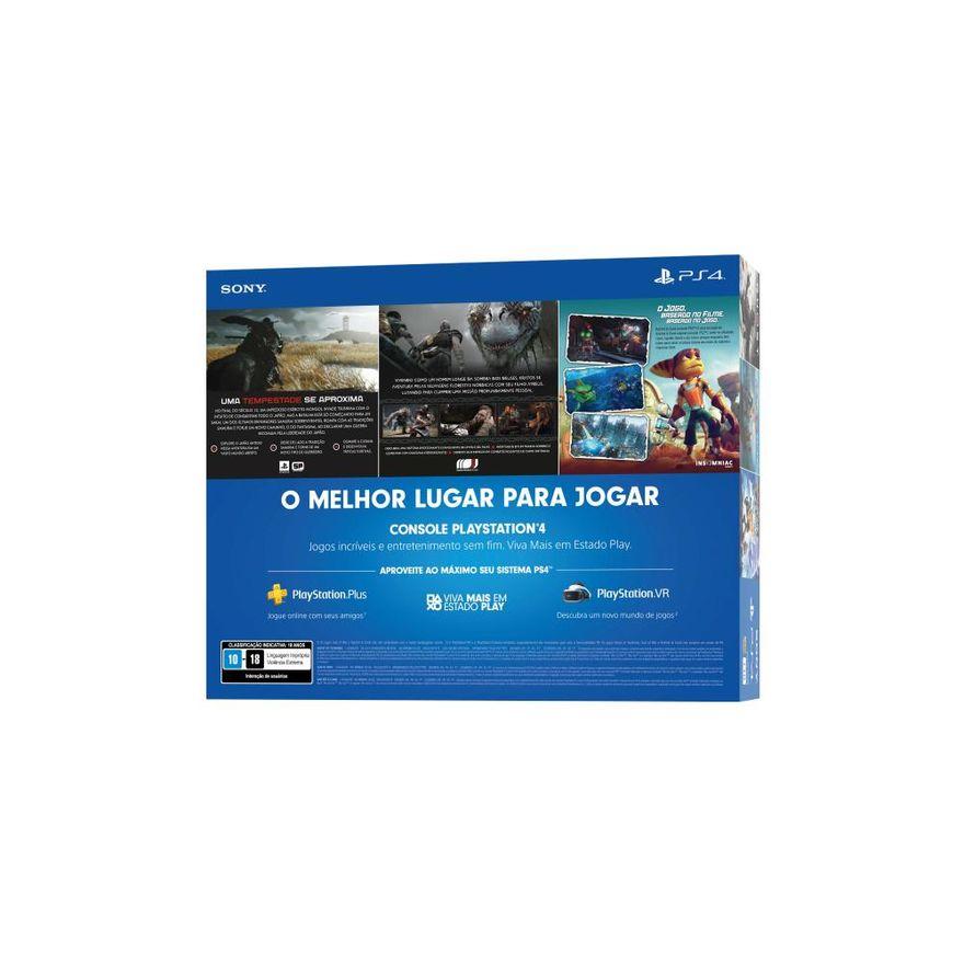 Playstation-4---Mega-Pack-V18---1TB-com-3-Jogos---Sony-4