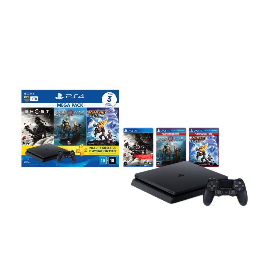 Playstation-4---Mega-Pack-V18---1TB-com-3-Jogos---Sony-7