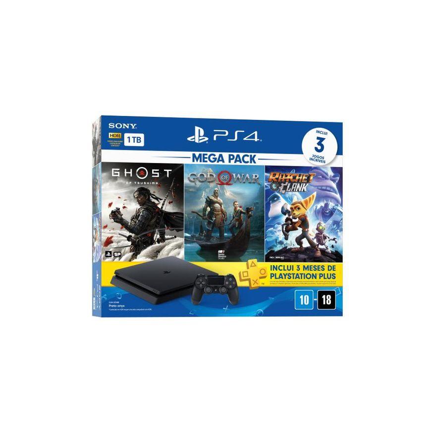 Playstation-4---Mega-Pack-V18---1TB-com-3-Jogos---Sony-1