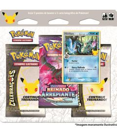 Cards-Pokemon---Blister-Triplo---25-anos---Mimikyu---Copag-0