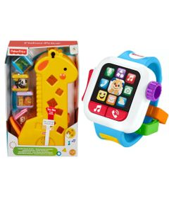 Kit-Fisher-Price---Girafa-Peek-a-Blocks-e-Meu-Primeiro-Smartwatch_Frente