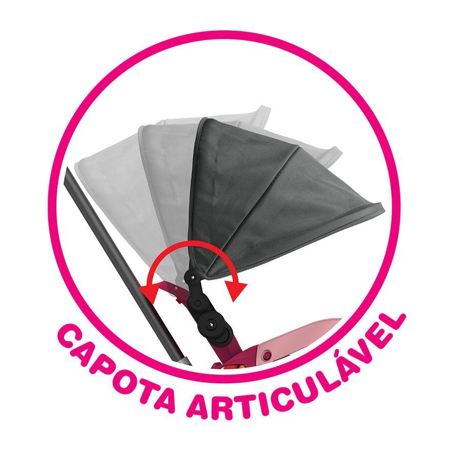 Triciclo-de-Passeio-e-Pedal---Velobaby---Reclinavel-Com-Capota---Pink---Bandeirante-7