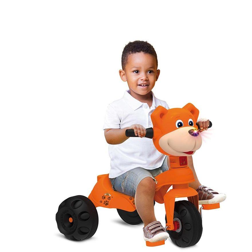 Triciclo---Passeio-e-Pedal---Zootico-Ursinho---Laranja---Bandeirante-3