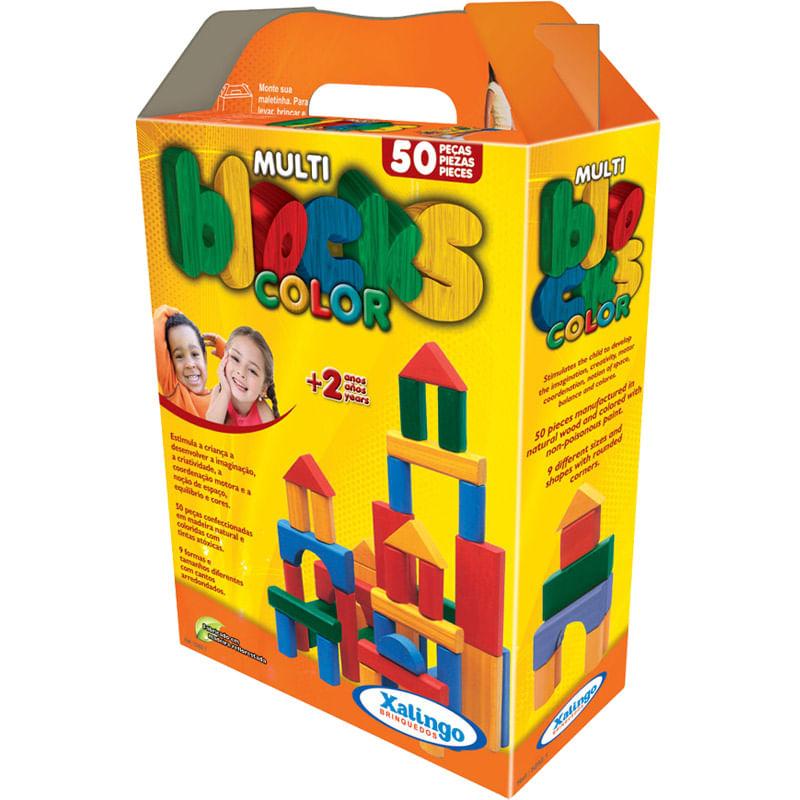 Multi Blocks Coloridos - Xalingo
