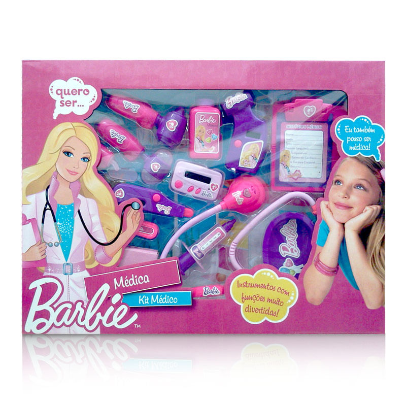 Kit Médica Grande - Barbie - Monte Líbano