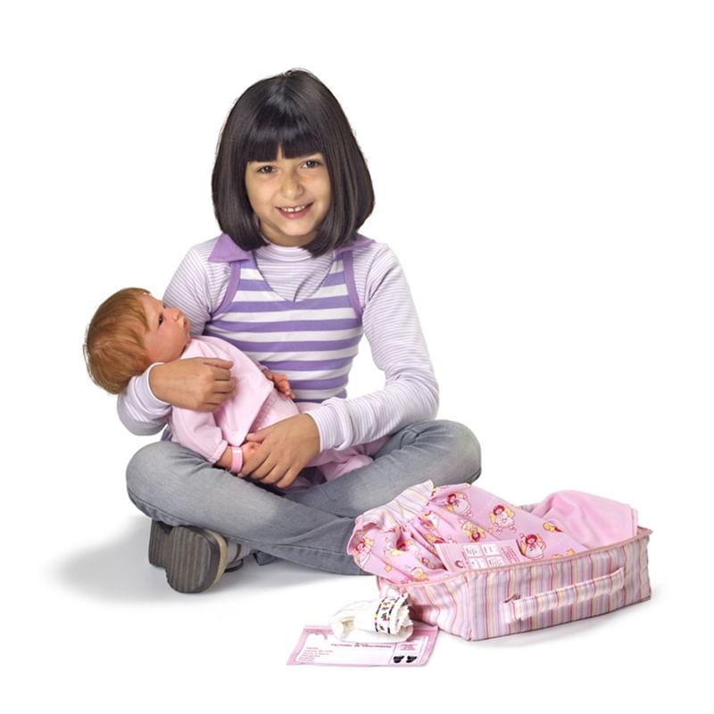 Kit Maternidade Para Bonecas - Tam. G - Laço de Fita