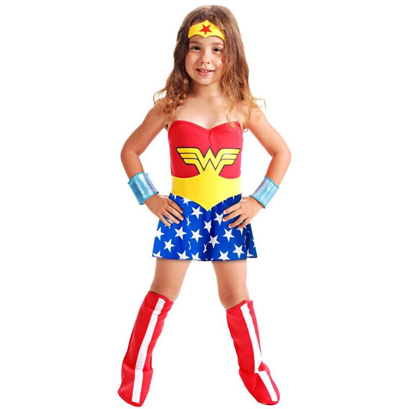 121368d37 Fantasia Infantil - Mulher Maravilha - Sulamericana - Ri Happy Brinquedos