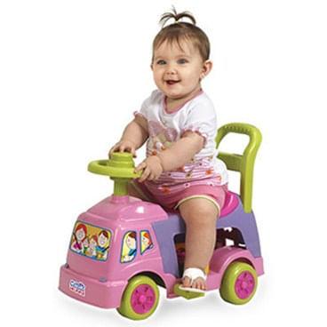 Andador 4 em 1 - Cor Rosa - Magic Toys