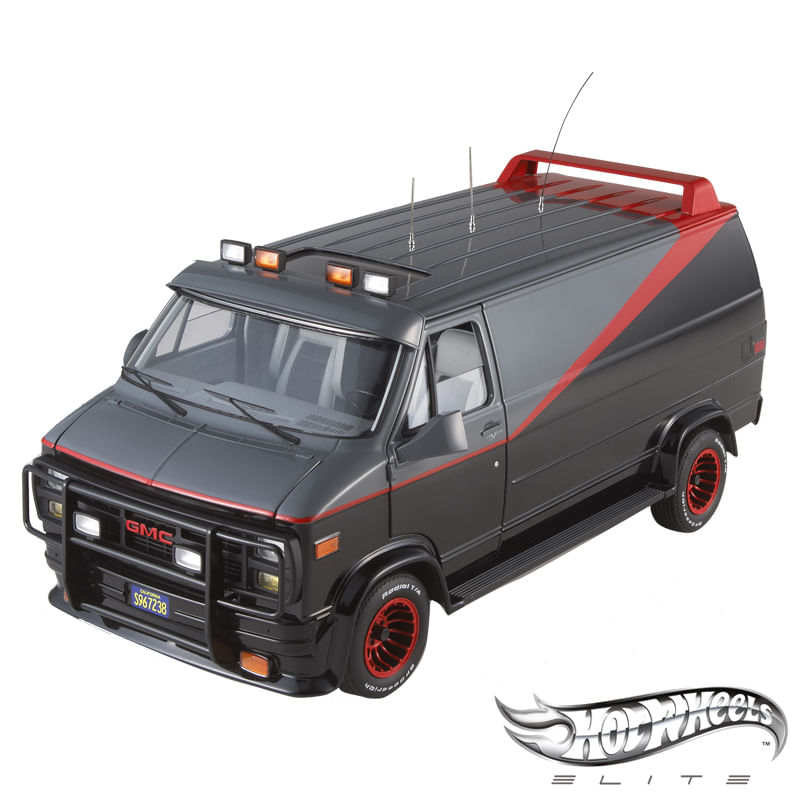 Carro Hot Wheels Elite - The A-Team Van GMC - 1:18 - Mattel