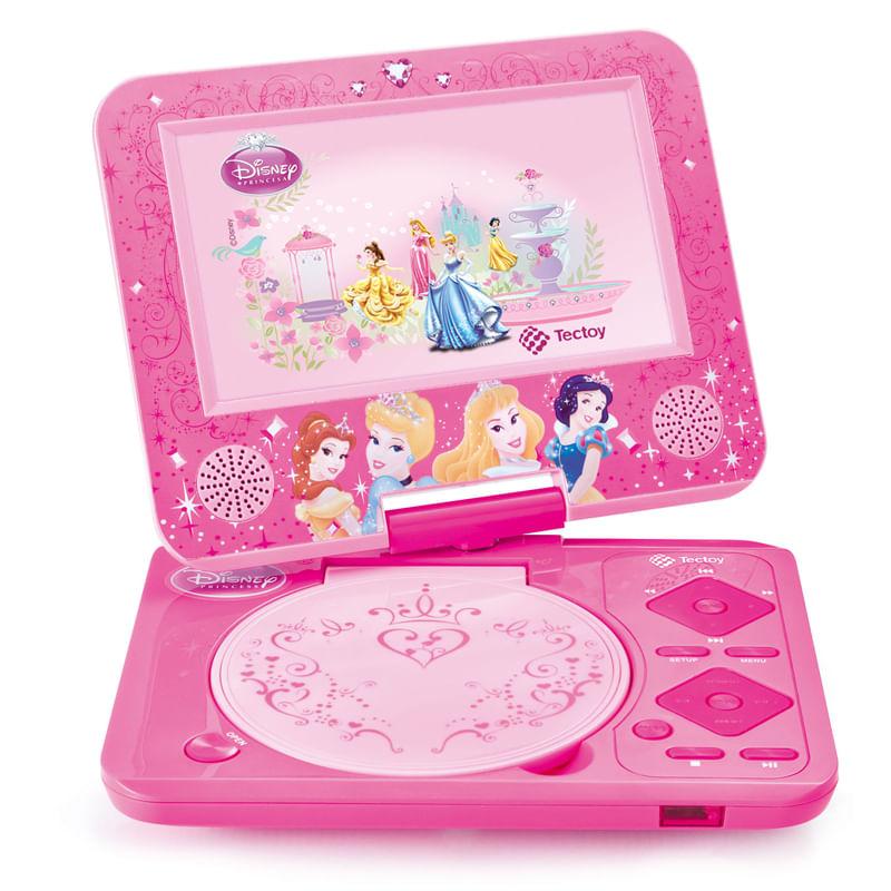 DVD Portátil das Princesas Disney - Tectoy