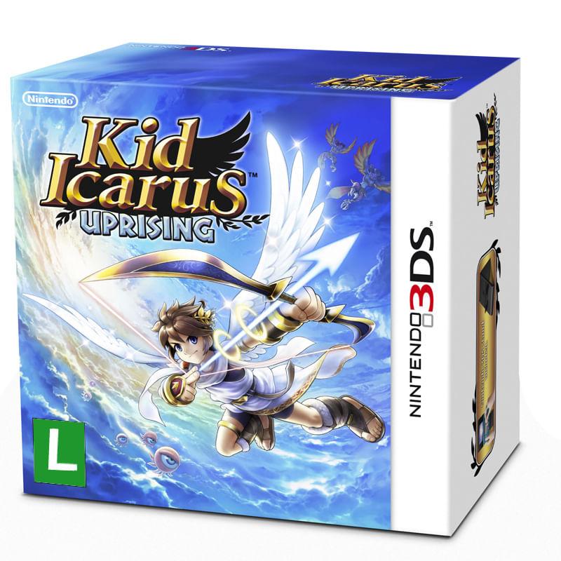 Jogo Nintendo 3DS - Kid Icarus Uprising