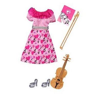 Roupinha Barbie - Uniformes Quero Ser... Violinista - Mattel
