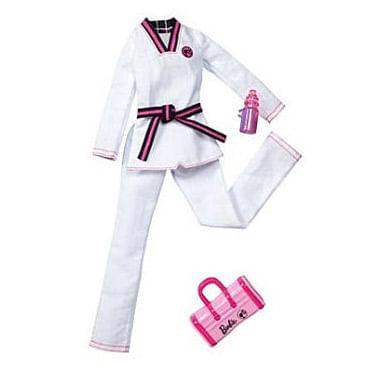 Roupinha Barbie - Uniformes Quero Ser... Lutadora - Mattel