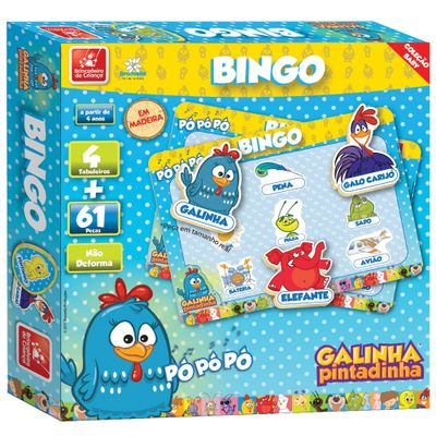Galinha-Pintadinha-Bingo
