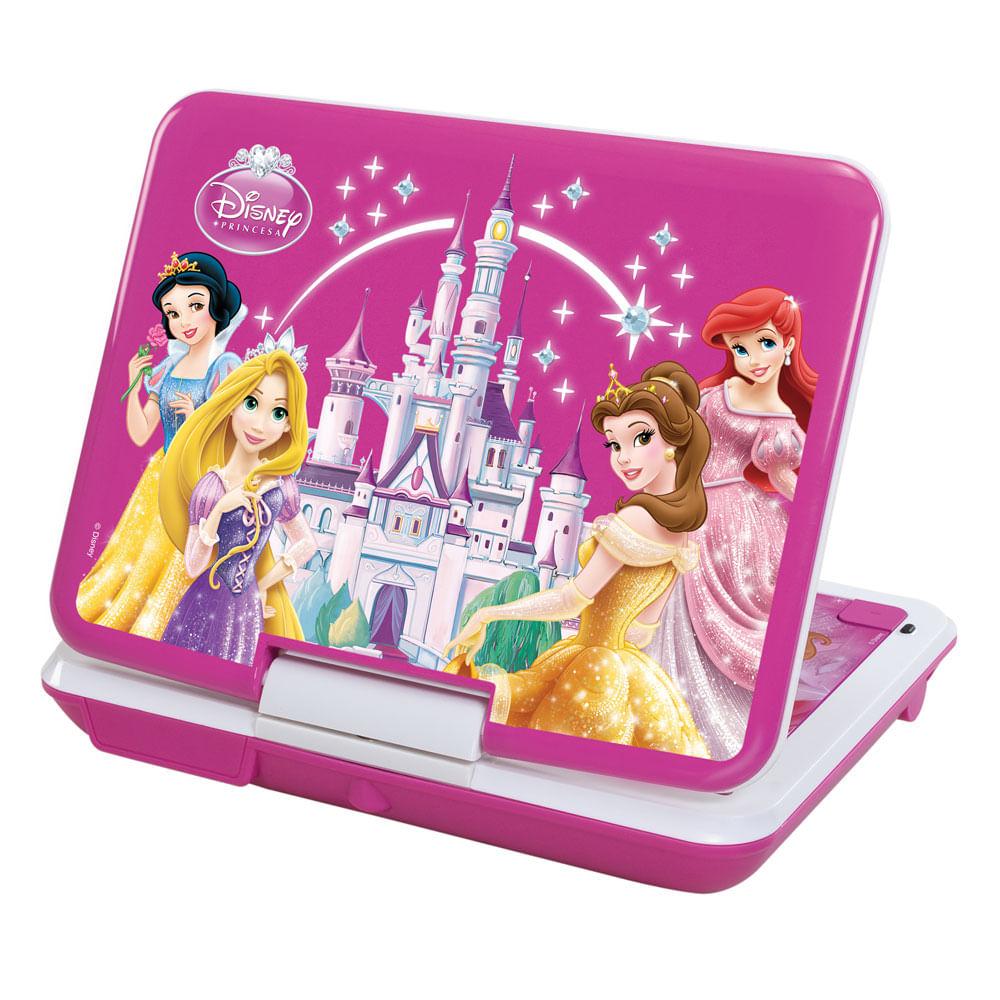 DVD Player Portátil - Princesas Disney - Tectoy