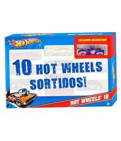 Hot-Wheels---Pacote-com-10-Carros---Carro-Preto