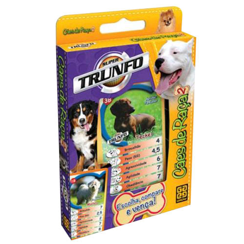 Super Trunfo - Cães de Raça 2 - Grow