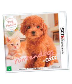 jogo-nintendo-3ds-nintendogs-cats-toy-poodle