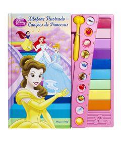 Livro-Princesas-Disney-Xilofone-Ilustrado-Cancoes-de-Princesas