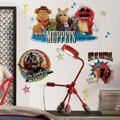 adesivo-de-parede-os-muppets-roommates