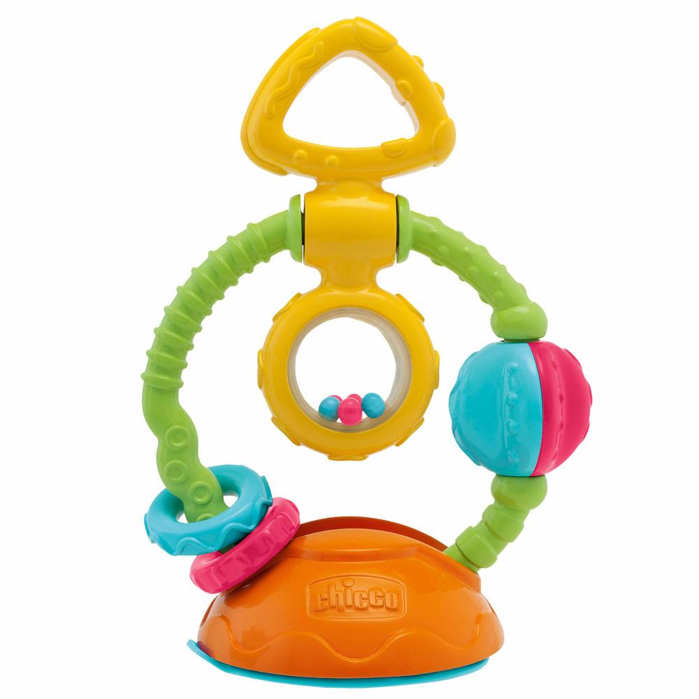 Brinquedo de Atividades - Touch And Spin com Ventosas - Chicco